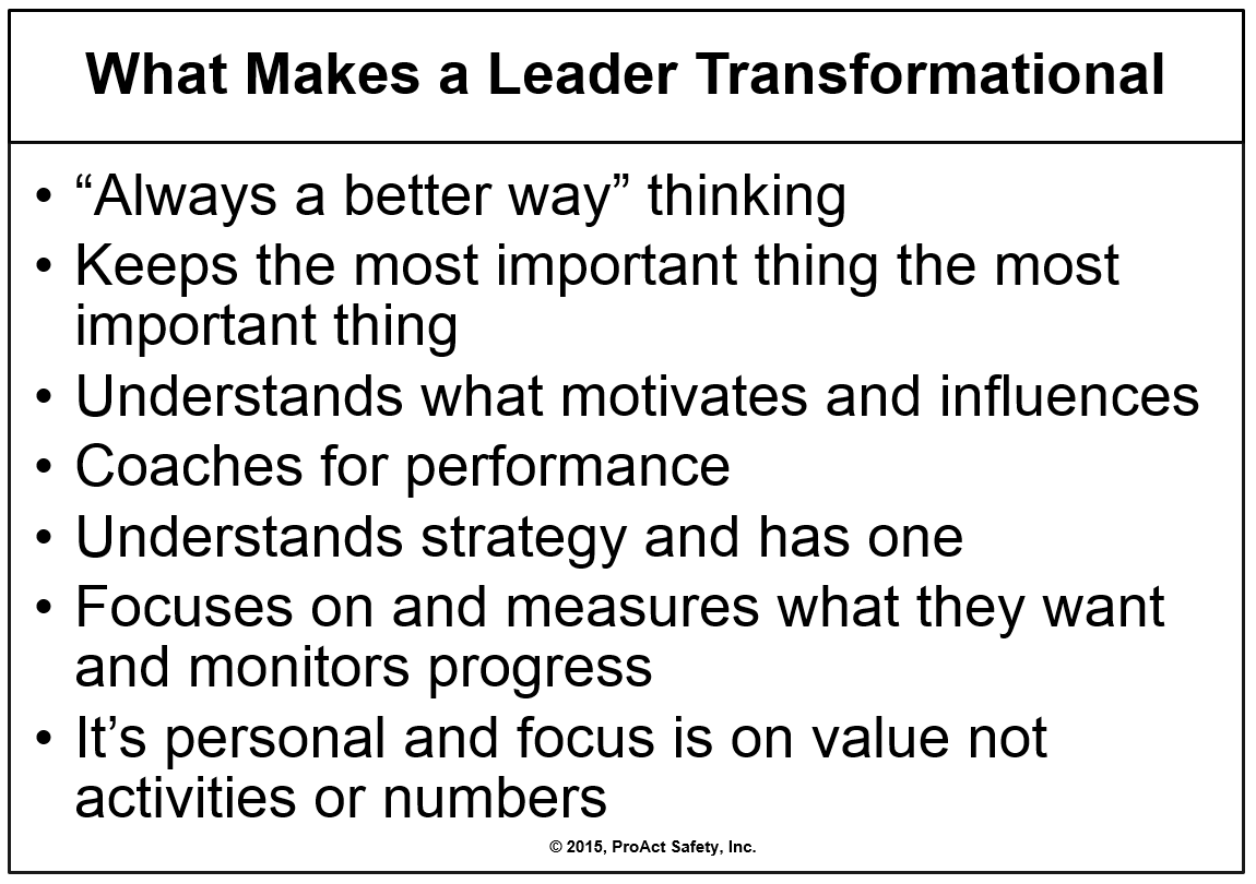 What Makes a Leader Transformational?