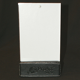 4x6 Magnetic Picture Frame with Leather Stand
